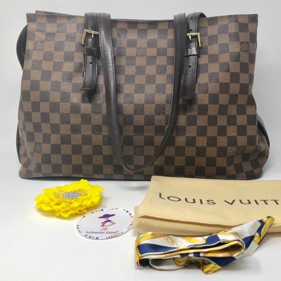 f12d1dce93641 Louis Vuitton Handbags - Louis Vuitton Damier Ebene Chelsea Tote Bag